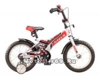 Велосипед 12 STELS JET (1ск, рама 8, зад.ножн.торм.,перед.руч.торм,багаж.,звонок,защит,доп кол.)