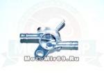 Бензокран Fighter125 (крепится саморезом) для скутеров и мопедов (вход - D6мм, выход - D6мм)