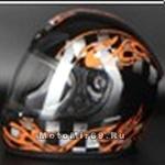 Шлем интеграл FALCON XZF07 BLACK, BLUE размер L