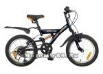 Велосипед 16 NOVATRACK DART (5-скор., Microshift, алюм.обода, амортизатор) черный 107095
