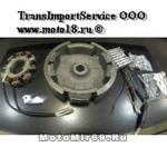 Комплект электрооборудования для 168F,168F-2, 170F (7А, 84Вт, 12В, для ЭЛЕКТРО стартера, с венцом)